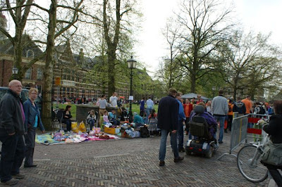 Afbeelding vrijmarkt Assen