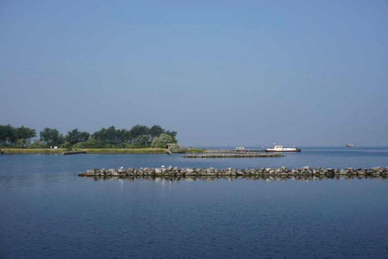 Eiland Mosselbank in het Grevelingenmeer