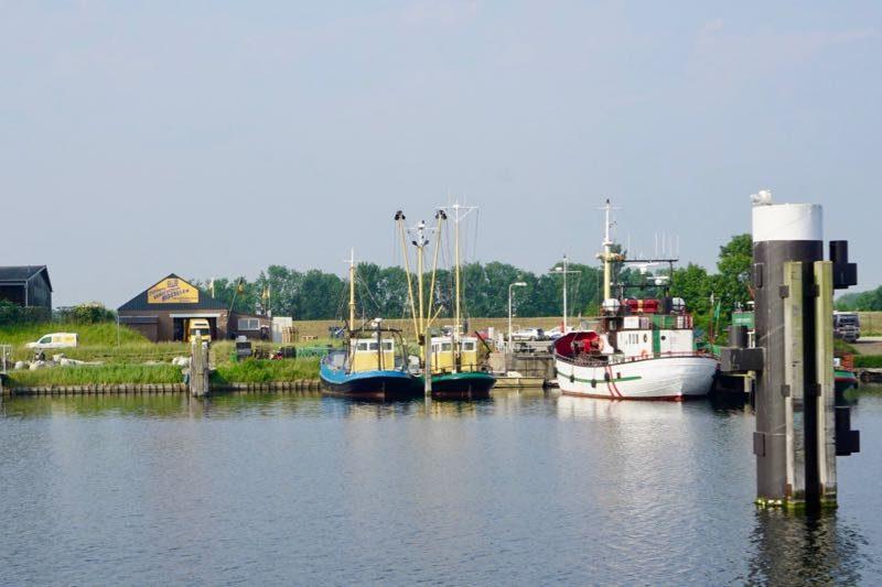 De visserijhaven van Bruinisse