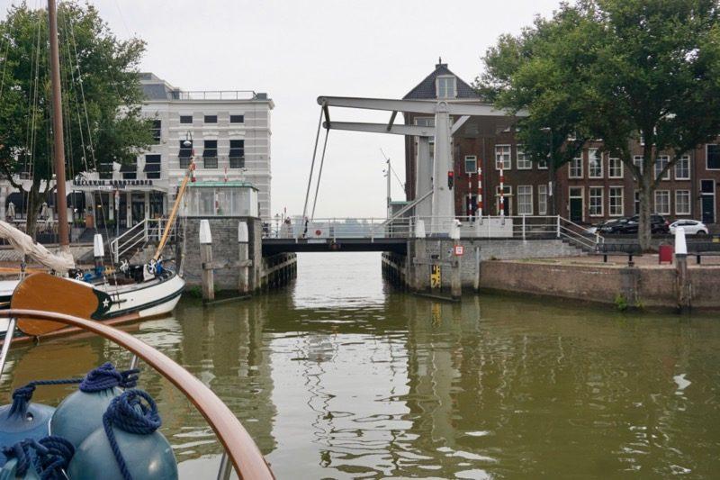 De Boombrug voor de Wijnhaven van Dordrecht