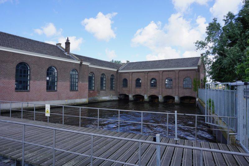 Het grote gemaal bij Spaarndam