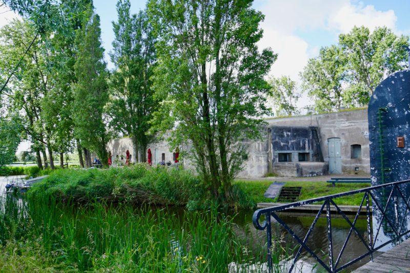 Het Fort Bezuiden Spaarndam maakt deel uit van de Stelling van Amsterdam