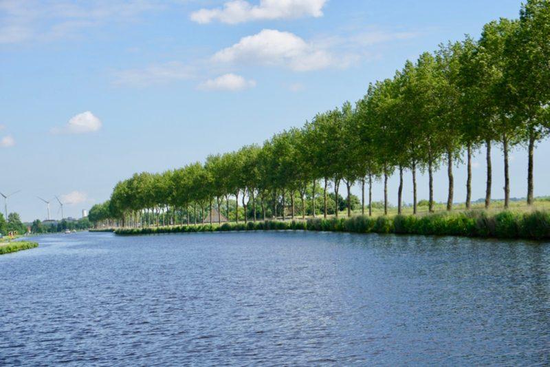 Het Noordhollandsch Kanaal richting Alkmaar