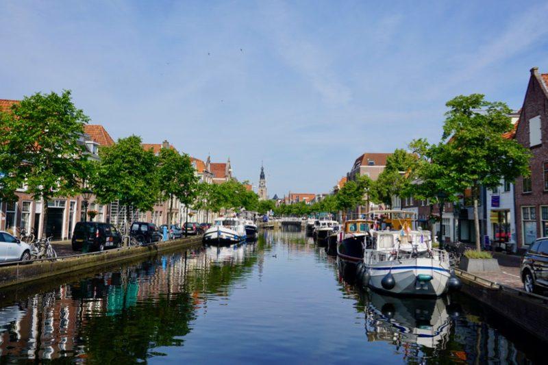 De binnenhaven van Alkmaar