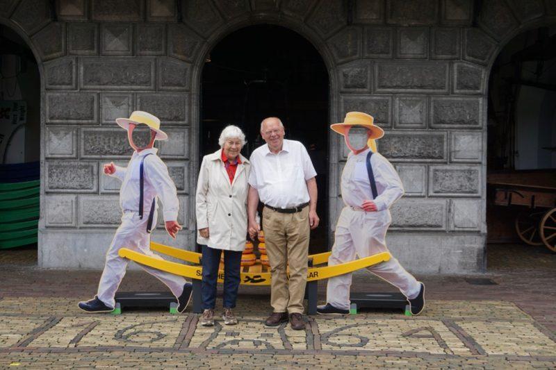Onze gasten voor de Kaaswaag in Alkmaar
