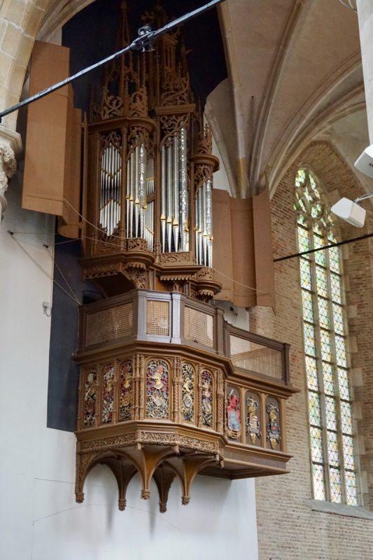 Het koororgel van de Grote kerk van Alkmaar