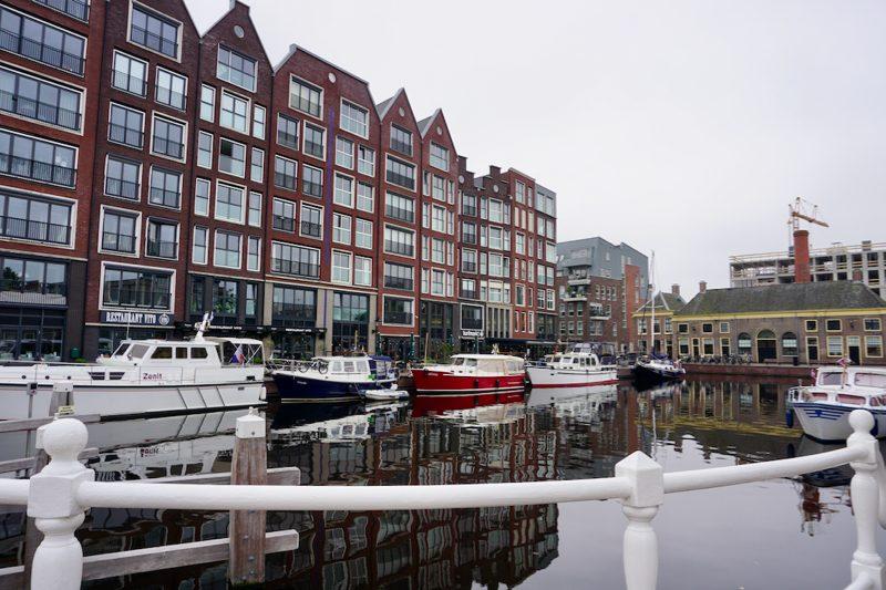 De nieuwe 'Turfmarkthaven' in Alkmaar