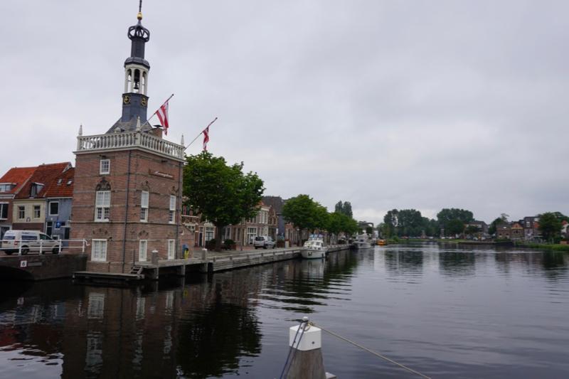 Het havenkantoor in het Accijnshuisje aan de Bierkade van Alkmaar