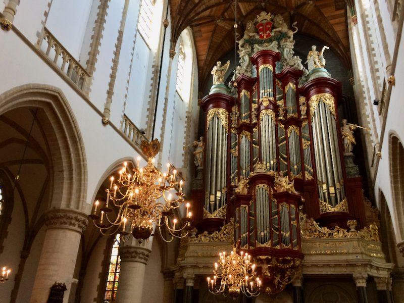 Het Muller-orgel in de Bavo van Haarlem