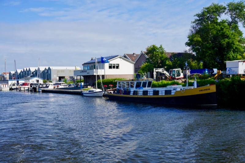 Jachthaven Breewijd in de Koopvaarders Binnenhaven van Den Helder