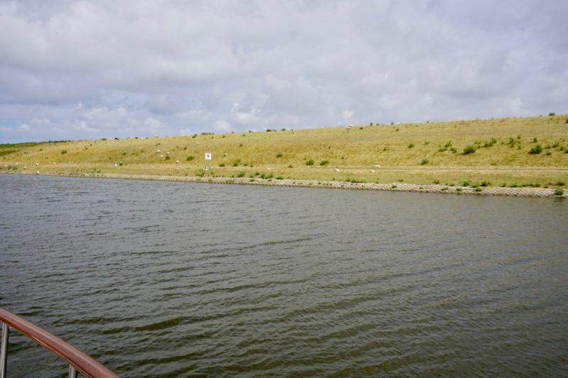 Zeedijk langs het Balgzandkanaal