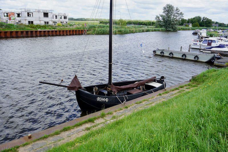 Gerestaureerde vissersboot uit Kolhorn