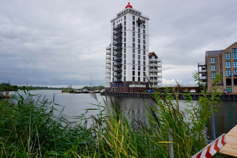 De nieuwbouw van het project Waterfront Harderwijk