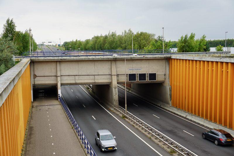 Het Veluwe Aquaduct bij Harderwijk
