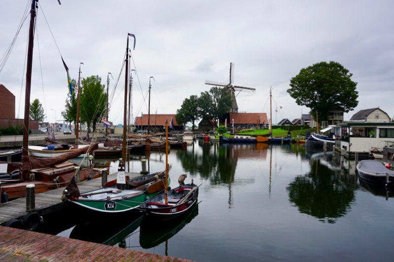 De voormalige scheepswerf in de Vissershaven van Harderwijk