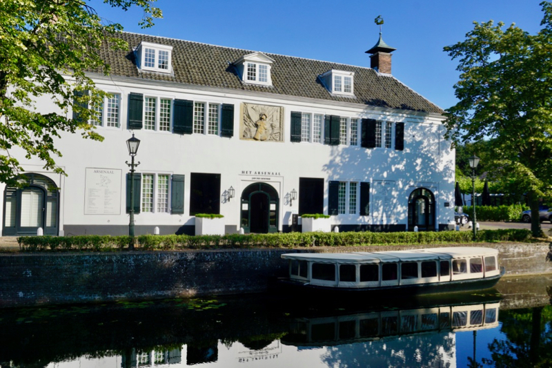 Het Arsenaal is de thuisplaats van binnenhuisarchitect Jan des Bouvrie