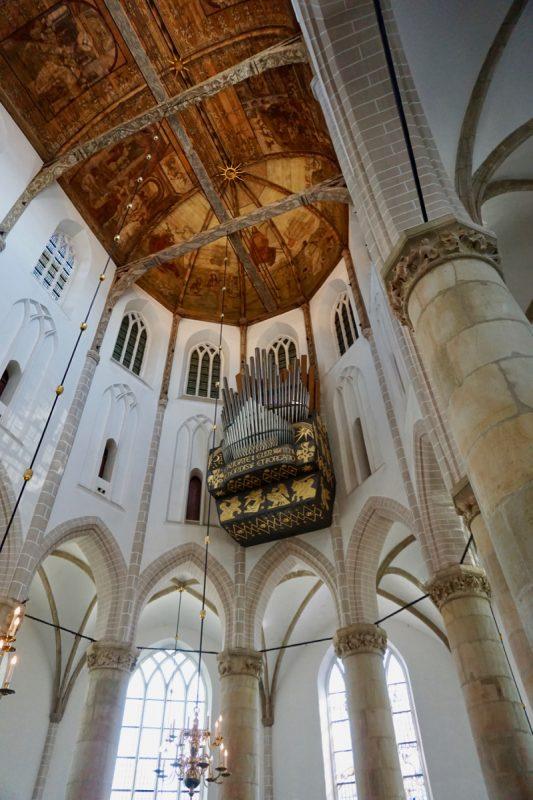 Het Flentrop-orgel van de Grote- of St.Vituskerk van Naarden