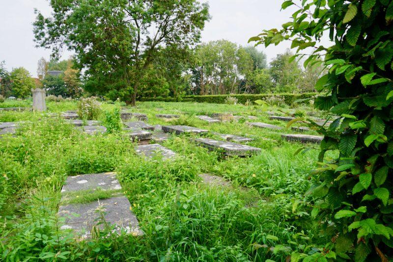 De grote Joodse Begraafplaats in Ouderkerk aan de Amstel