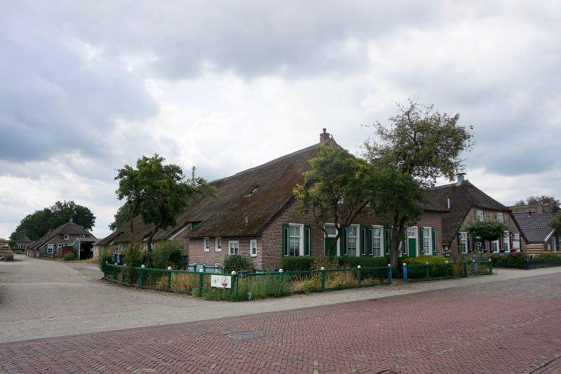 Drie Staphorster Langhuisboerderijen achter elkaar