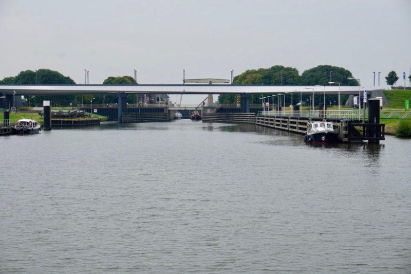 De Spooldersluis bij Zwolle