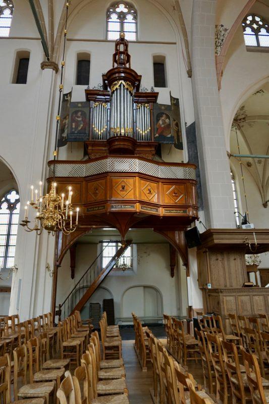 Het Siegel-orgel in de Adreaskerk te Hattem