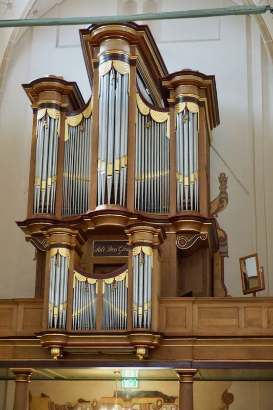 Het Flentrop-orgel in de St.Andreaskerk te Hasselt