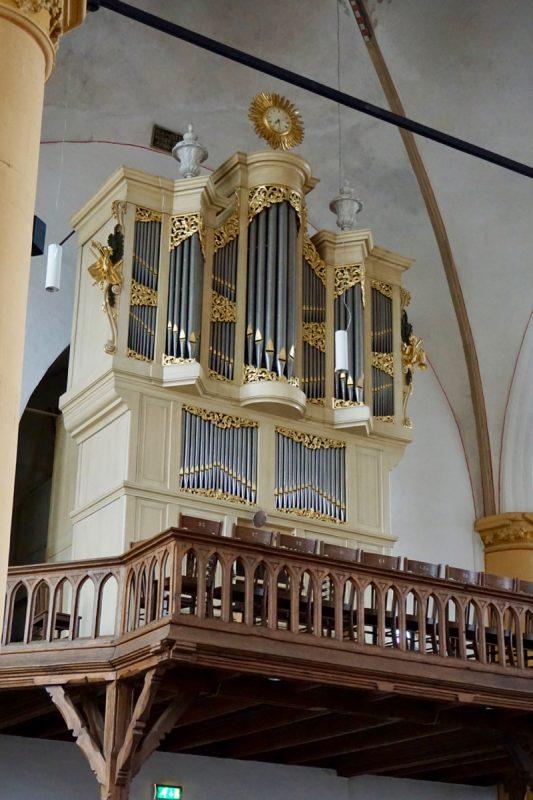 Het Hinsz-orgel in de Buitenkerk van Kampen