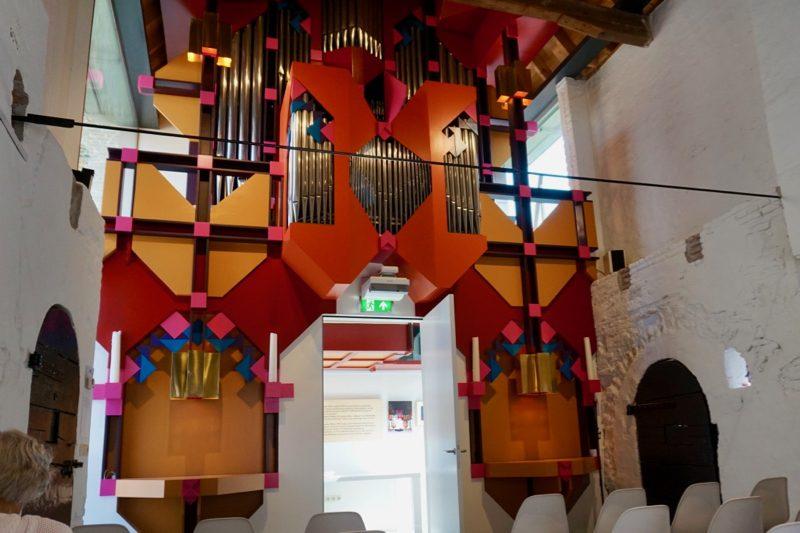 Het Boon-Leeflang-orgel in het Orgelmuseum van Elburg