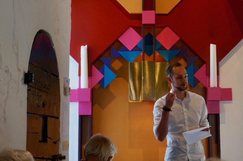 Organist Jan-Willem Jonkman vertelt over de werken die hij gaat spelen op het Boon-Leeflang-orgel