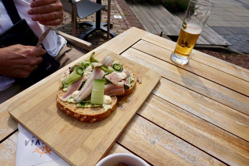 Een heerlijke lunch bij restaurant Veluvia in Harderwijk
