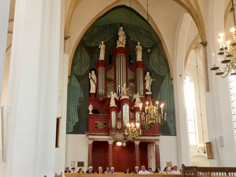 Het Rudolph Knol orgel in de Grote-of Stephanuskerk te Hasselt