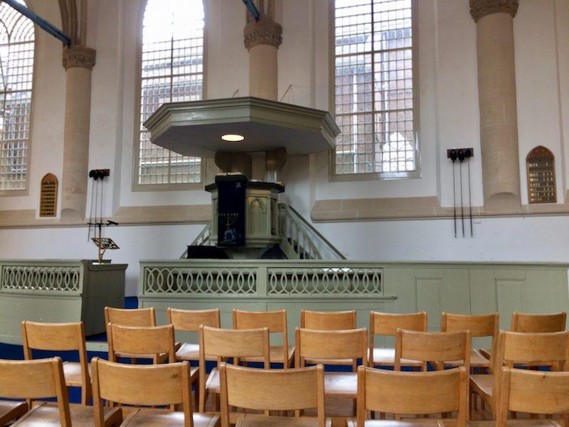 Kansel van de Broederkerk te Kampen